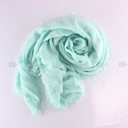 Châle Soft Bleu Cyan