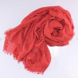 Châle Soft Rouge Brique