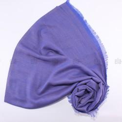 Châle Etincelle Bleu Indigo Taupe