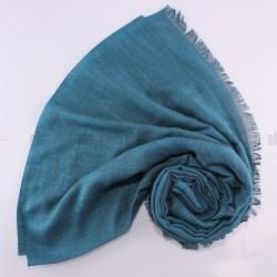 Châle Etincelle Vert Sapin Bleu