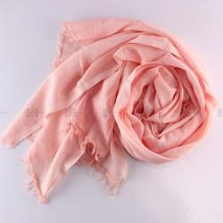 Châle Simply Coton Rose Dragée