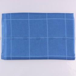 Châle Carreaux Bleu