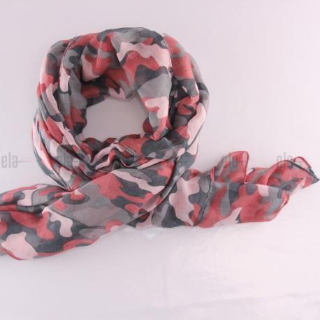 Châle Military Rose